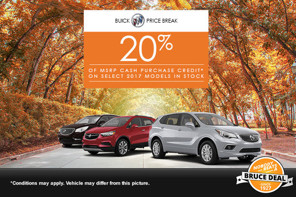 Buick Price Break