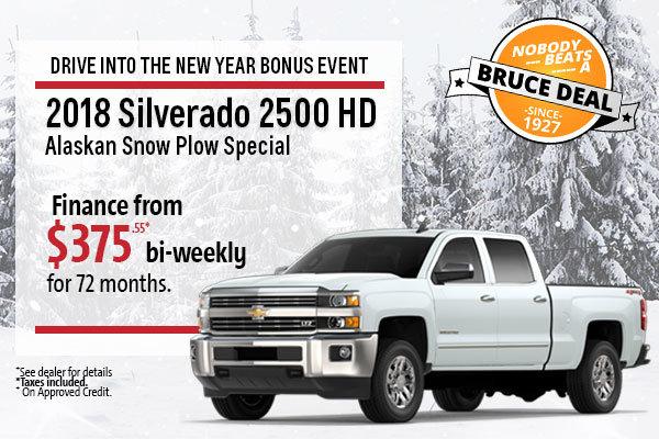 Get the 2018 Silverado 2500 HD!