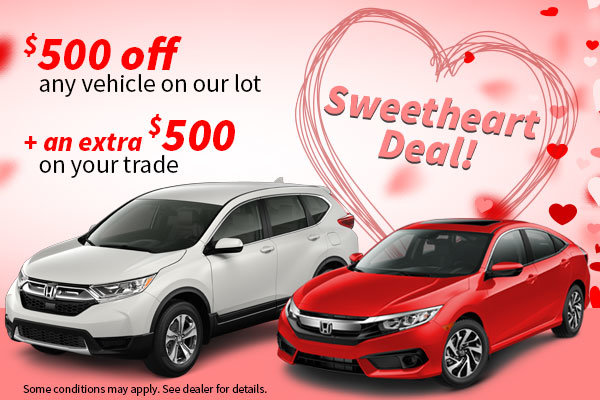 Sweetheart Deal!