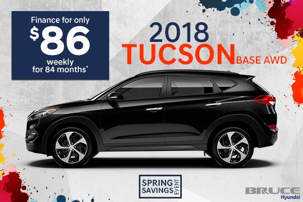 2018 Tucson Base AWD