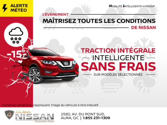 L'événement maîtrisez toutes les conditions de Nissan