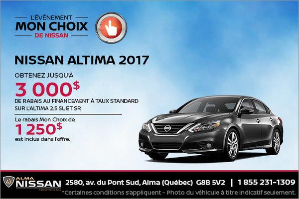 Nissan Altima 2017 en rabais
