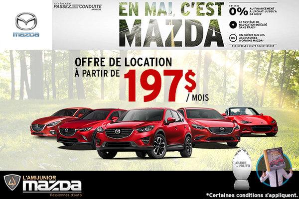 En mai, c'est Mazda!