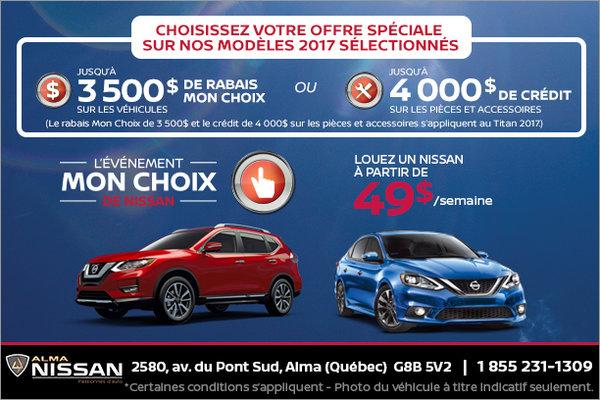 L'événement Mon Choix de Nissan!