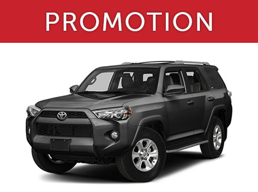 New Toyota 4Runner Deals in Montreal
