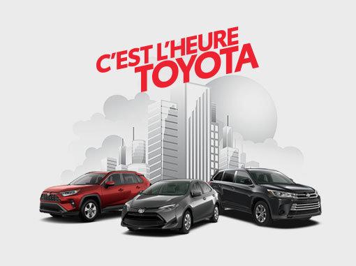 C'est l'heure Toyota chez Spinelli