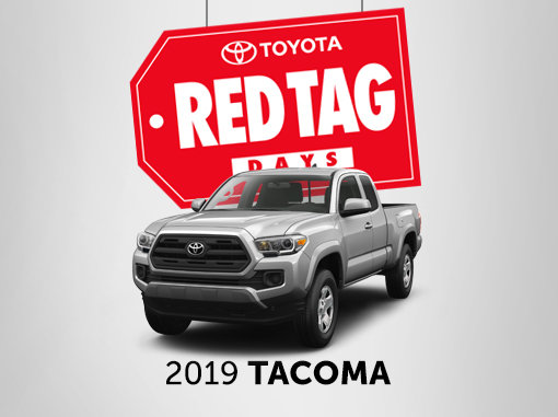 New Toyota Tacoma Promotions in Montreal