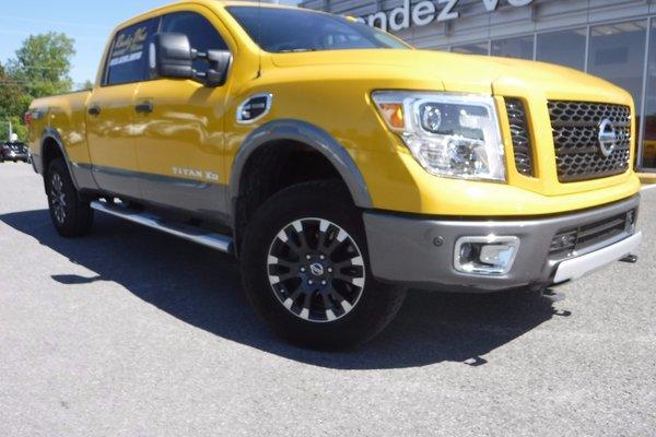 Nissan Titan XD XD PRO 4X CUMMINS**GPS**WARRANTY 160000KM 2016