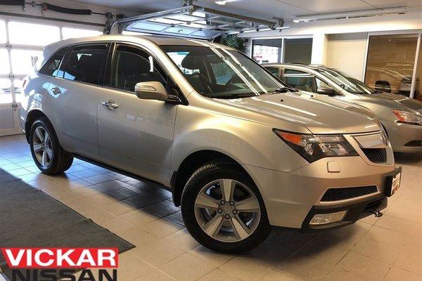 Used 2011 Acura MDX Technology Package Grey in Winnipeg - $22999.0 Acura Winnipeg on