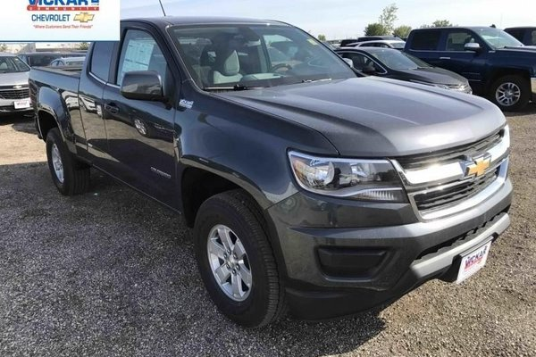 2017 Chevrolet Colorado WT  -  Towing Package - $218.95 B/W