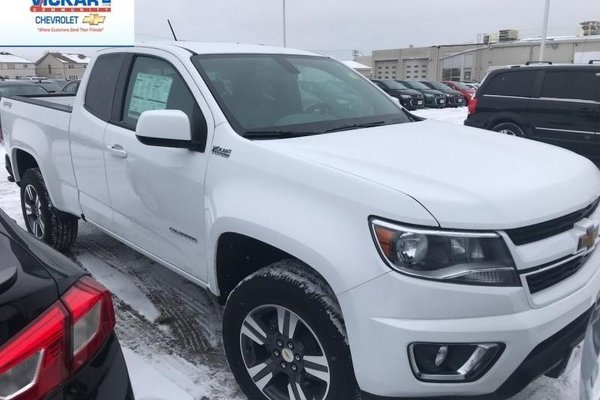 2018 Chevrolet Colorado Work Truck  -  Towing Package - $230.59 B/W