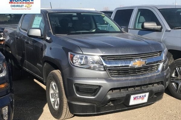 2018 Chevrolet Colorado Work Truck  -  Towing Package - $231.22 B/W