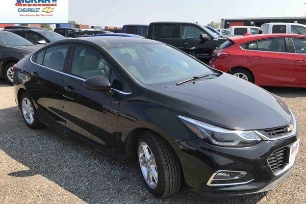 2017 Chevrolet Cruze LT  - Bluetooth -  SiriusXM - $180.03 B/W