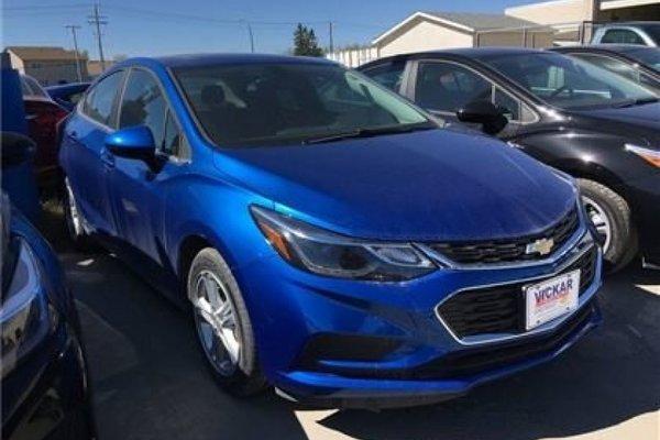 2017 Chevrolet Cruze LT  - Bluetooth -  SiriusXM - $168.57 B/W