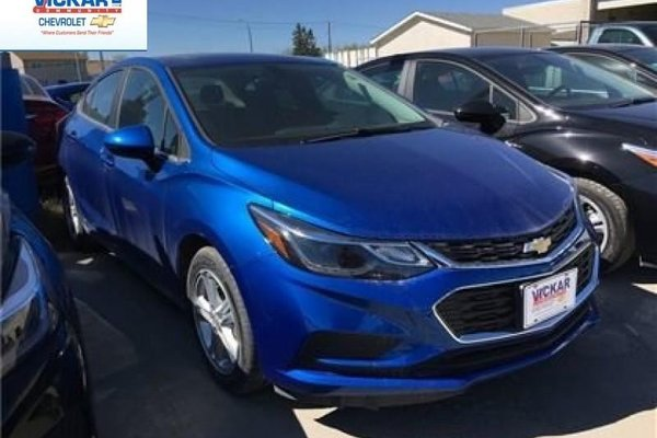 2017 Chevrolet Cruze LT  - Bluetooth -  SiriusXM - $143.78 B/W