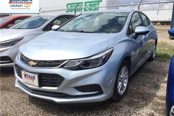 2017 Chevrolet Cruze LT  - Bluetooth -  SiriusXM - $140.37 B/W