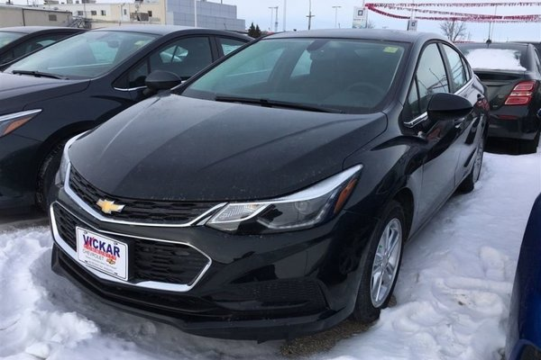 2018 Chevrolet Cruze LT  - Bluetooth -  Heated Seats - $147.55 B/W