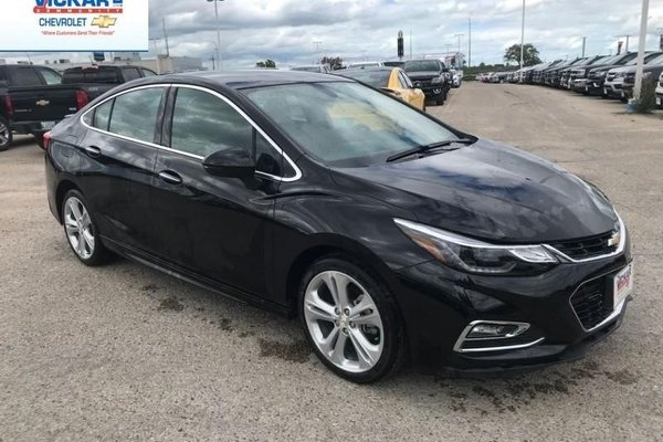 2018 Chevrolet Cruze Premier  - Leather Seats - $199.60 B/W