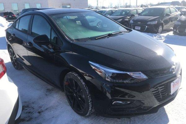 2018 Chevrolet Cruze LT  - Bluetooth -  Heated Seats - $170.31 B/W