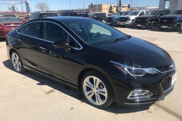 2018 Chevrolet Cruze Premier  - Leather Seats - $192.64 B/W