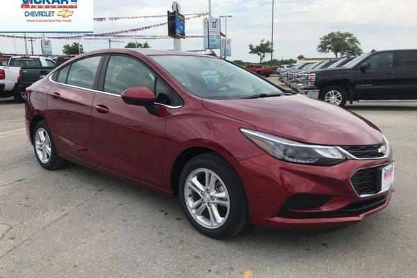 2018 Chevrolet Cruze LT  - Bluetooth -  Heated Seats - $150.89 B/W