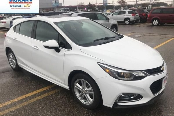 2018 Chevrolet Cruze LT  - $171.87 B/W