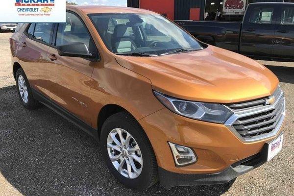 2018 Chevrolet Equinox LS  - Bluetooth -  Heated Seats - $189.38 B/W