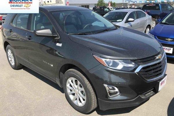 2018 Chevrolet Equinox LS  - Bluetooth -  Heated Seats - $188.00 B/W