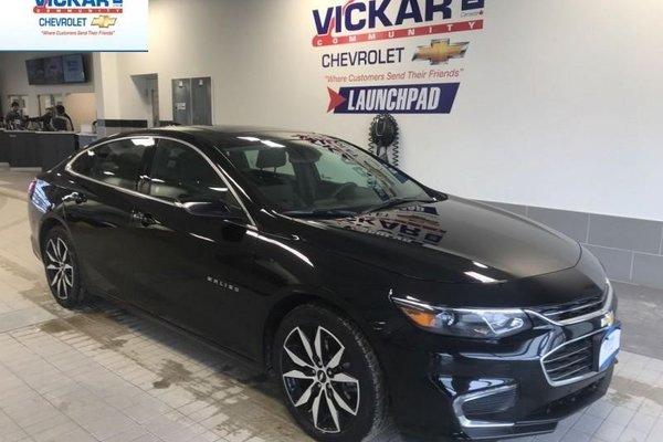 2018 Chevrolet Malibu LT  TRUE NORTH, NAVIGATION, SUNROOF, BOSE AUDIO  - $171.60 B/W