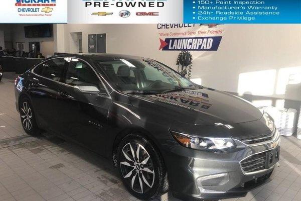 2018 Chevrolet Malibu LT   BOSE AUDIO, LEATHER SEATS, NAVIGATION,  - $167.58 B/W