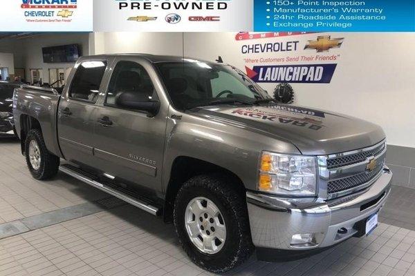 2012 Chevrolet Silverado 1500 LT  CREW CAB, 5.3L V8, 4X4  - $208.54 B/W