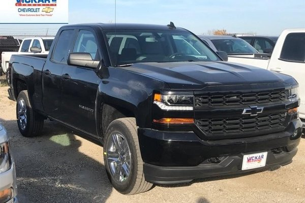 2018 Chevrolet Silverado 1500 Custom  -  Bluetooth - $247.69 B/W