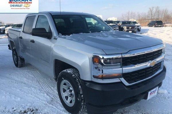 2018 Chevrolet Silverado 1500 Work Truck  - Cruise Control - $265.36 B/W