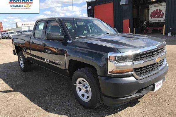 2018 Chevrolet Silverado 1500 Work Truck  - Cruise Control - $255.10 B/W