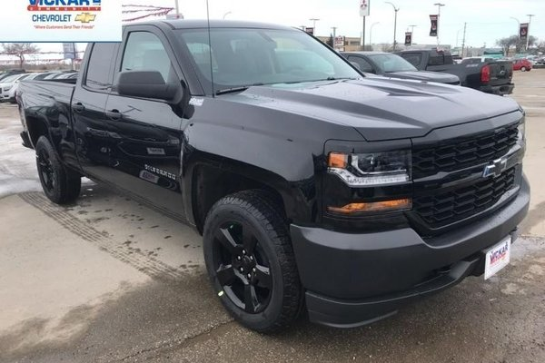 2018 Chevrolet Silverado 1500 Work Truck  - Cruise Control - $277.53 B/W