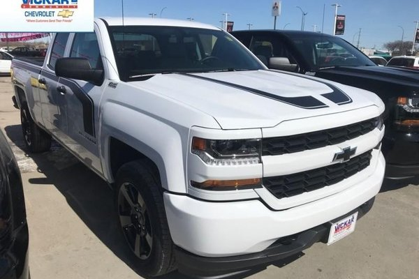 2018 Chevrolet Silverado 1500 Custom  -  Bluetooth - $268.49 B/W