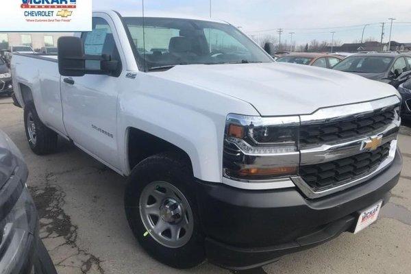 2018 Chevrolet Silverado 1500 Work Truck  - Cruise Control - $215.21 B/W