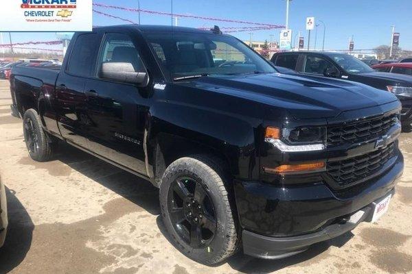 2018 Chevrolet Silverado 1500 Custom  - $272.00 B/W