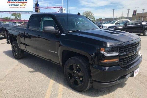 2018 Chevrolet Silverado 1500 Custom  -  Bluetooth - $278.26 B/W
