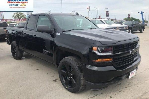 2018 Chevrolet Silverado 1500 Custom  - $266.12 B/W