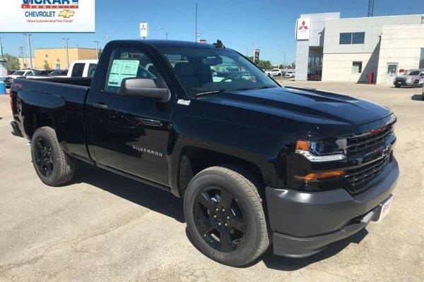 2018 Chevrolet Silverado 1500 Work Truck  - Cruise Control - $253.15 B/W