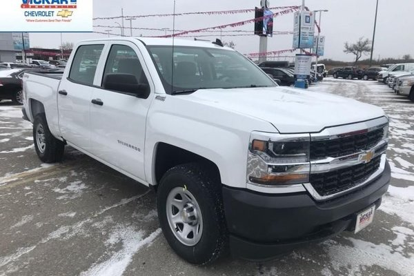 2018 Chevrolet Silverado 1500 Work Truck  - $309.14 B/W