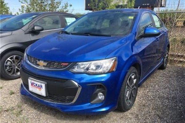 2017 Chevrolet Sonic LT  - Bluetooth - $153.08 B/W