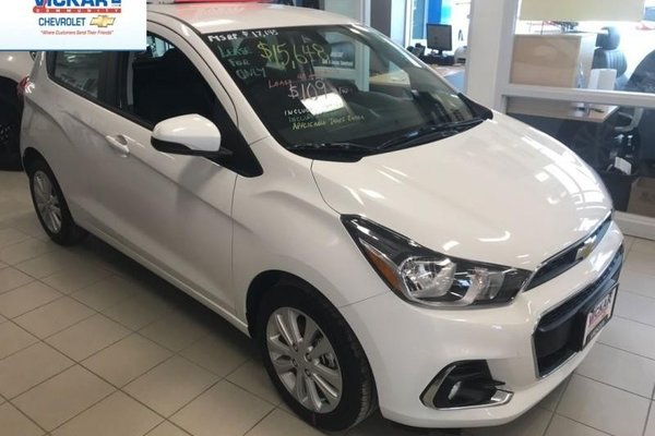 2018 Chevrolet Spark 1LT  - Bluetooth -  MyLink - $112.24 B/W
