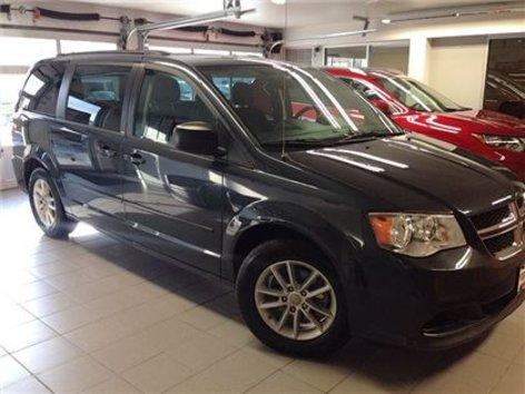 2013 Dodge Grand Caravan SXT/1 OWNER LOCAL TRADE/DVD/ALLOYS!!!!!