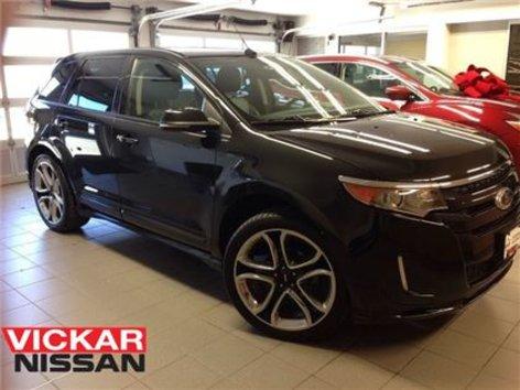 Ford Edge Sport Navi  Wheels Black On Black