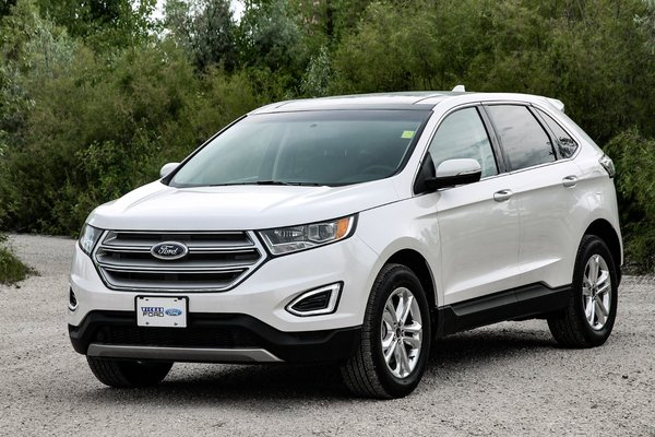 Used Ford Edge For Sale >> New 2017 Ford Edge SEL - AWD White Platinum Tri-Coat (MET ...
