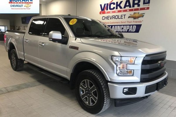 2017 Ford F-150 SUPERCREW, LEATHER. NAVIGATION, BUCKETS AND CONSOLE  - $292.10 B/W