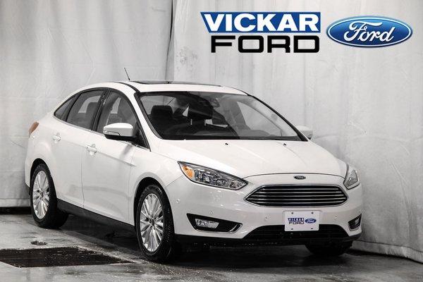 2017 Ford Focus Sedan Titanium