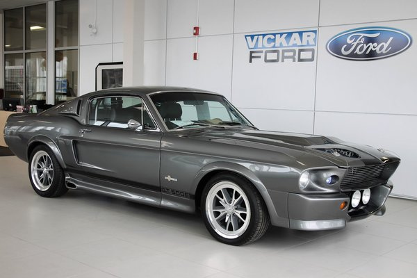 used 1968 ford mustang shelby gt500 fastback pepper gray met in